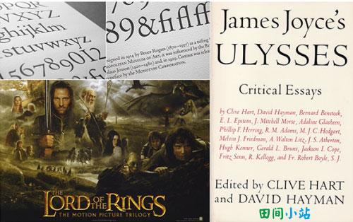 十大常用经典英文字体推荐 Centaur字体案例