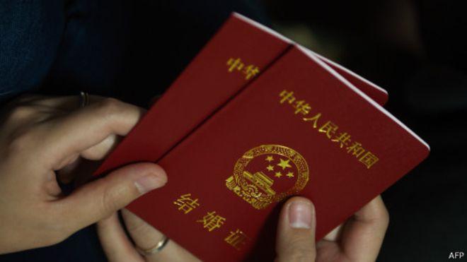 中国结婚证
