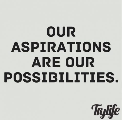 英语名言:我们的雄心壮志就是我们未来的无限可能。