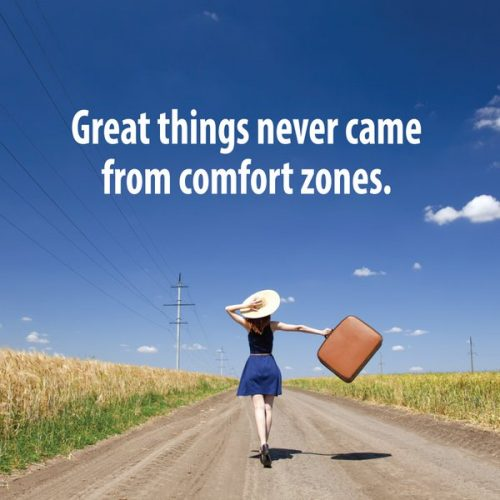 英语名言:伟大的事情从来不会出自安逸之处。