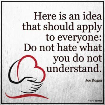 英语名言:这一点适用于每个人:不要讨厌自己不懂的东西。