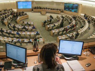 联合国会议翻译现场