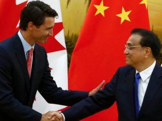 中华人民共和国和加拿大联合声明(中英对照)