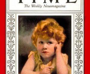 童年伊丽莎白女王上时代周刊