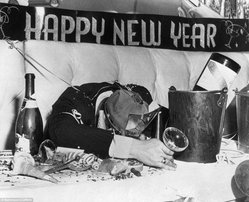 Happy New Year ! New York City, 1935