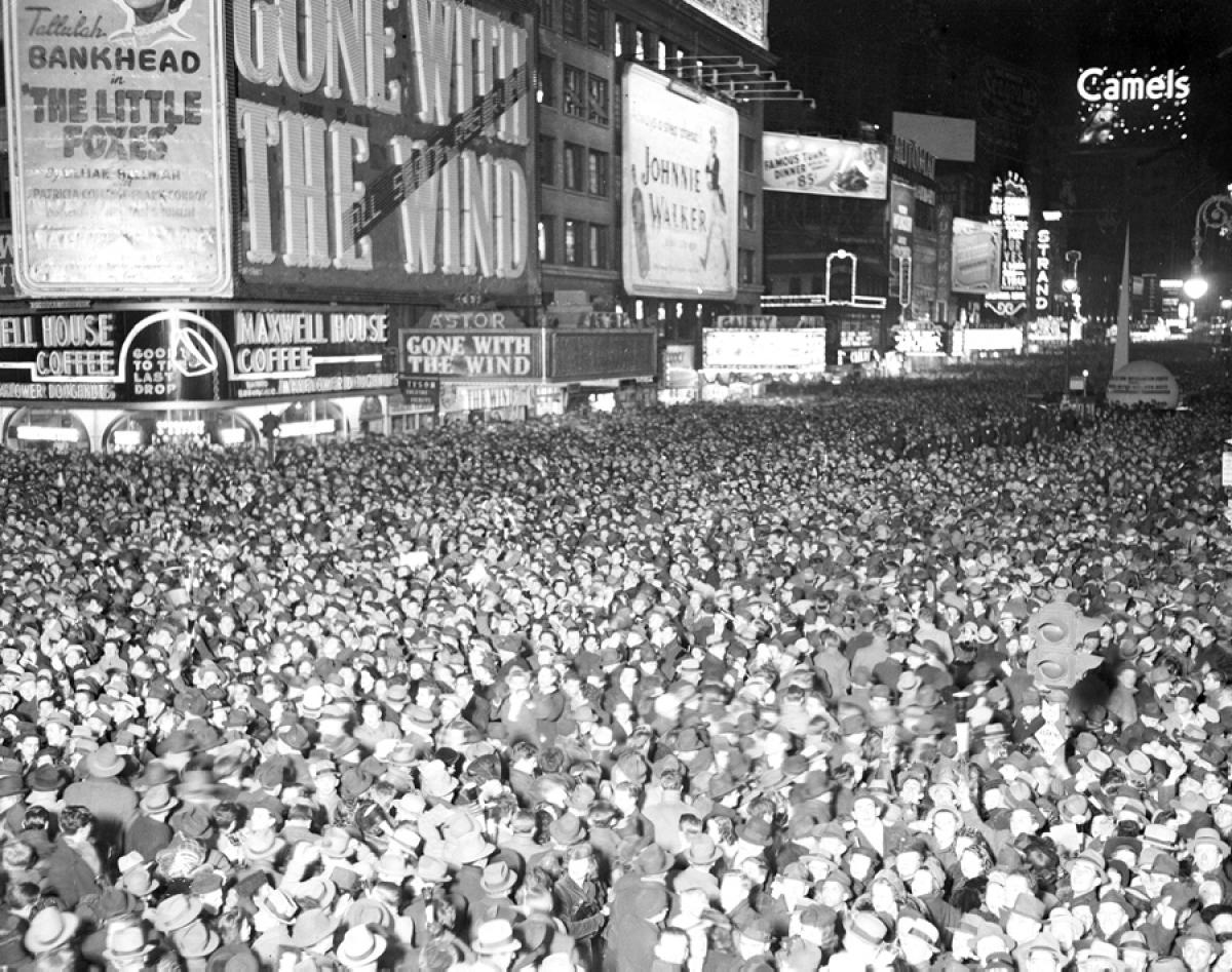 New Year's Eve 1940