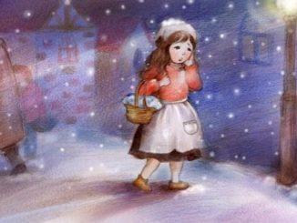 卖火柴的小姑娘 the little match girl