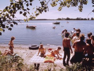 A Day at the Lake, 1970s
