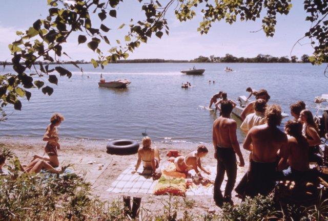 A Day at the Lake, 1970s