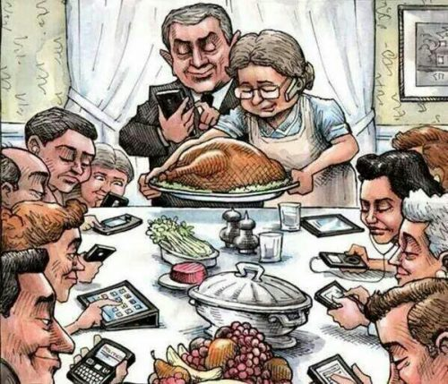 Enjoy family time, but not like this