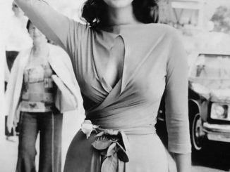 Lynda Carter, the original wonder woman, in the seventies