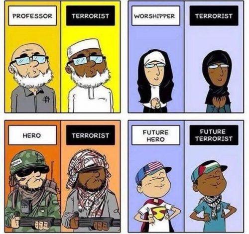 英语漫画 | 西方人的成见 Western stereotypes