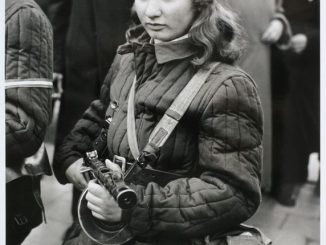Erika, 15-year-old Hungarian anti-Soviet rebel, 1956