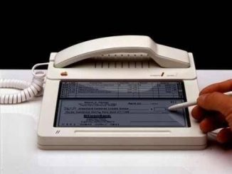 This is the 1983 Apple prototype, the first iPhone