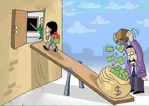 现在的教育