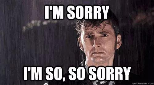 英语口语 | 道歉不要只会说sorry,奉上英语花式道歉用语,道歉!
