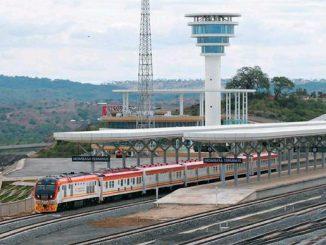 中国关键词   蒙内铁路 Mombasa-Nairobi railway