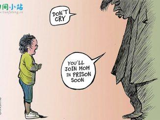 英语漫画 | 特朗普:把全家一起关进笼里 Jailing Families Together