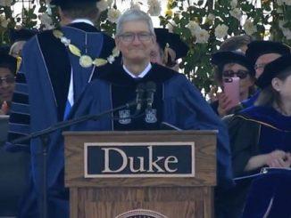 双语阅读 | 苹果CEO库克2018年杜克大学毕业典礼演讲:毕业生要无所畏惧