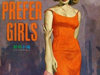 浮光掠影 | 1963年杰茜·杜蒙特所著女同性恋题材小说《我更喜欢女孩》封面