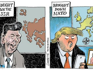 英语漫画 | 特朗普,北约的破坏者? Trump the Destroyer