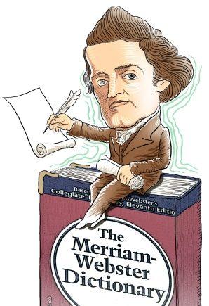 美国文化   美式身份和美式英语简化拼写运动的发起者:诺亚·韦伯斯特(Noah Webster)