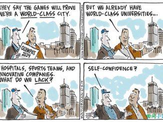 英语漫画 | 洛杉矶也要争创世界一流城市?
