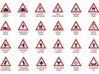 图说英语词汇 | 出国必备交通警告标志英语词汇中英对照