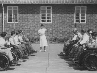 1948年,二战伤兵运动会在斯托克·曼德维尔举行