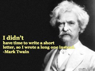 英语写作时你要忘掉这23个单词和短语_我没时间写出简洁的信,所以只好写一封长信给你