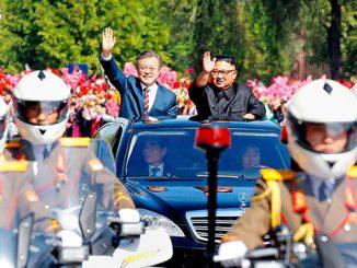 经济学人精读 | 2018年9月22日刊:The leaders of the two Koreas put on another great performance