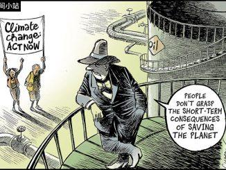 英语漫画 | 气候变化的后果 The Climate Change Report Should Make You Worry