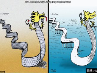英语漫画 | 港珠澳大桥正式通车:今日中国与昨日之不同
