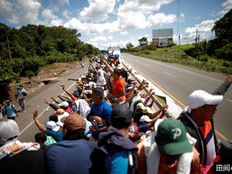 纽约时报小词详解 | caravan 向美国挺进的移民大篷车队