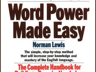好书推荐 | Word Power Made Easy 单词的力量 PDF下载