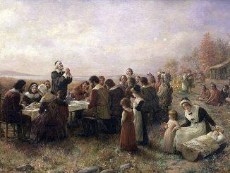 英语短篇小说 | The First Thanksgiving 第一个感恩节 艾伯特·布莱斯戴尔