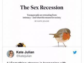 英语热词 | Sex Recession 性衰退