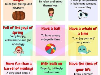 图说英语词汇 | 9个与Happiness(幸福快乐)相关的英语习语
