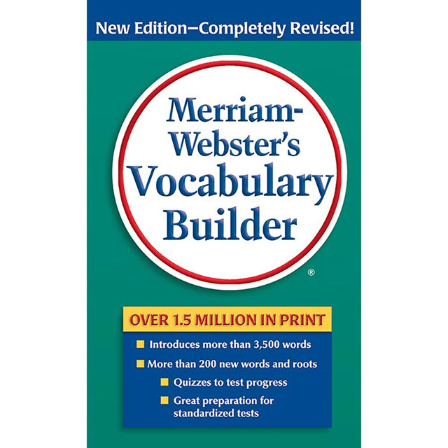 好书推荐 | Merriam-Webster's Vocabulary Builder 韦氏字根词典