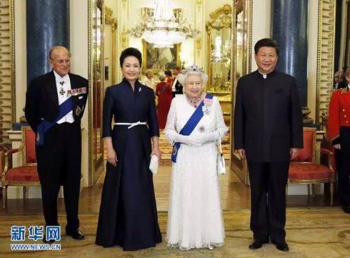 英国文化   英国女王把什么作为礼物送给了习近平?