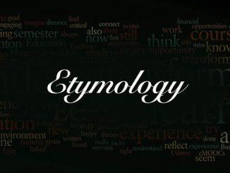 英语词源趣谈_Etymology