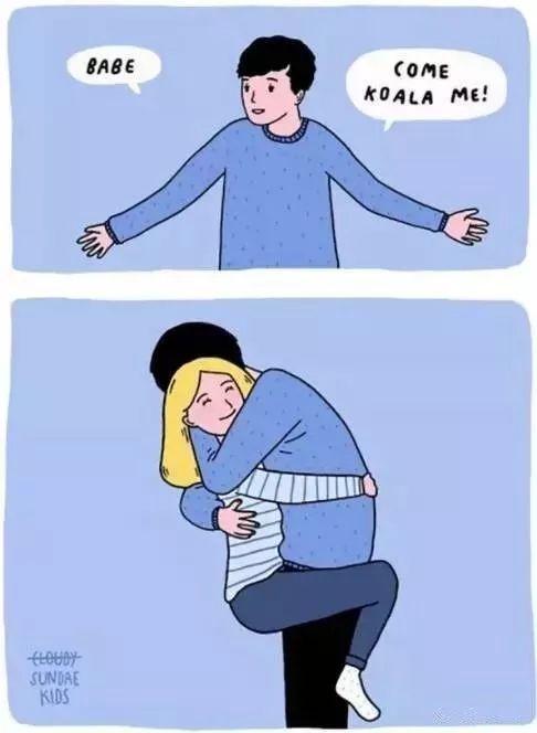 英语漫画 | 爱情理应这样真诚简单