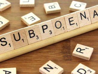 小词详解 | subpoena 命令某人出庭的法律文件