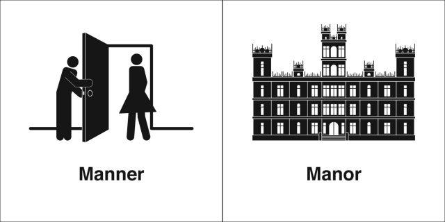 同音异义 | Manner & Manor