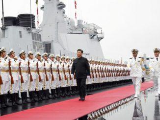 英语热词 | 庆祝人民海军成立70周年海上阅兵亮点回顾