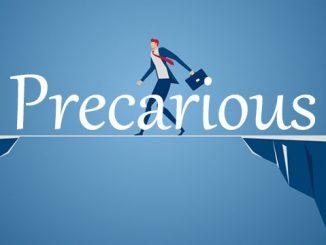 小词详解 | precarious