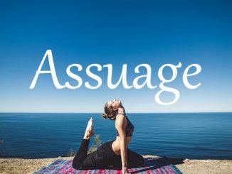 小词详解 | assuage
