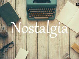 小词详解 | nostalgia