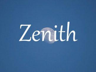 小词详解 | zenith