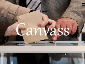 小词详解 | canvass